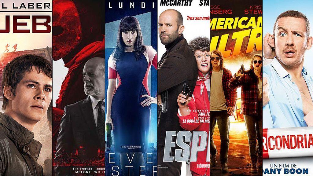 'American Ultra', 'Espias', 'Los conspiradores'... ¡Vive una semana de cine en FDF!