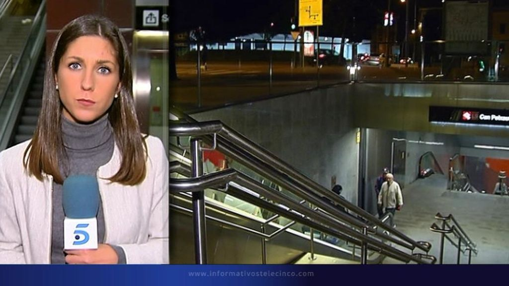 Los Mossos investigan la presunta agresión sexual y apuñalamiento a una pareja en el metro de Santa Coloma
