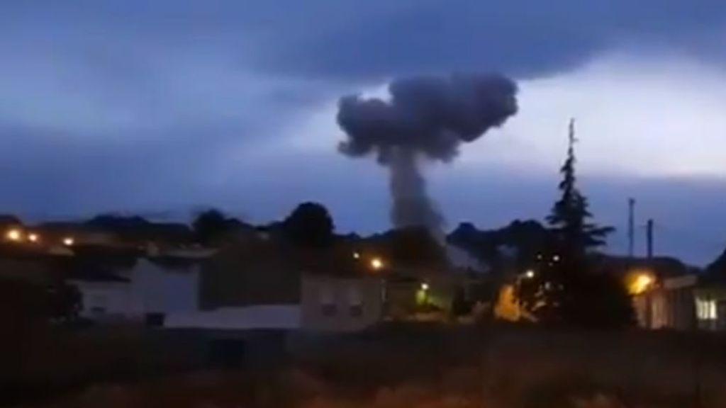 Dos víctimas en una explosión en una pirotecnia de Guadix (Granada)