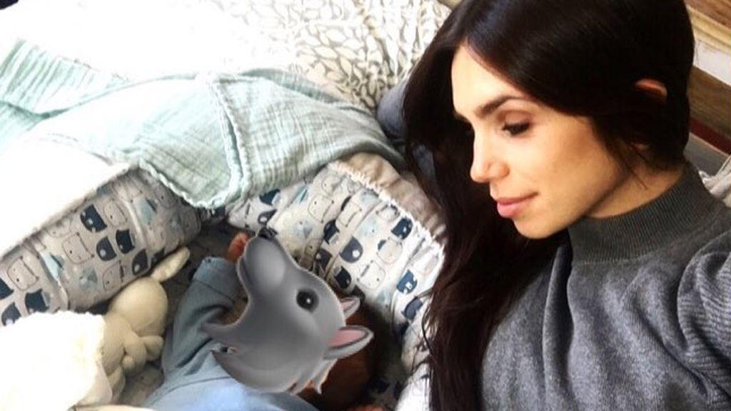 La emocionante carta de Elena Furiase a su bebé