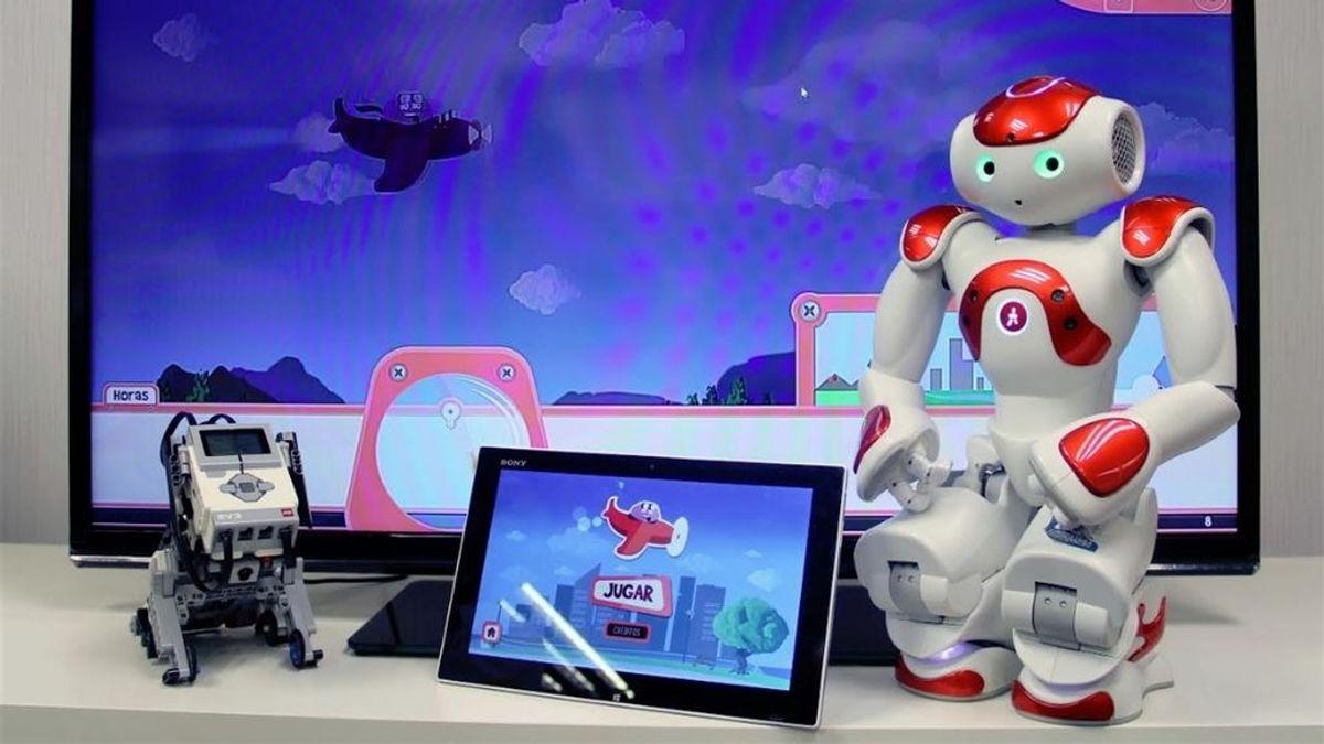 Videojuegos y robots para enseñar a los niños a convivir con la diabetes
