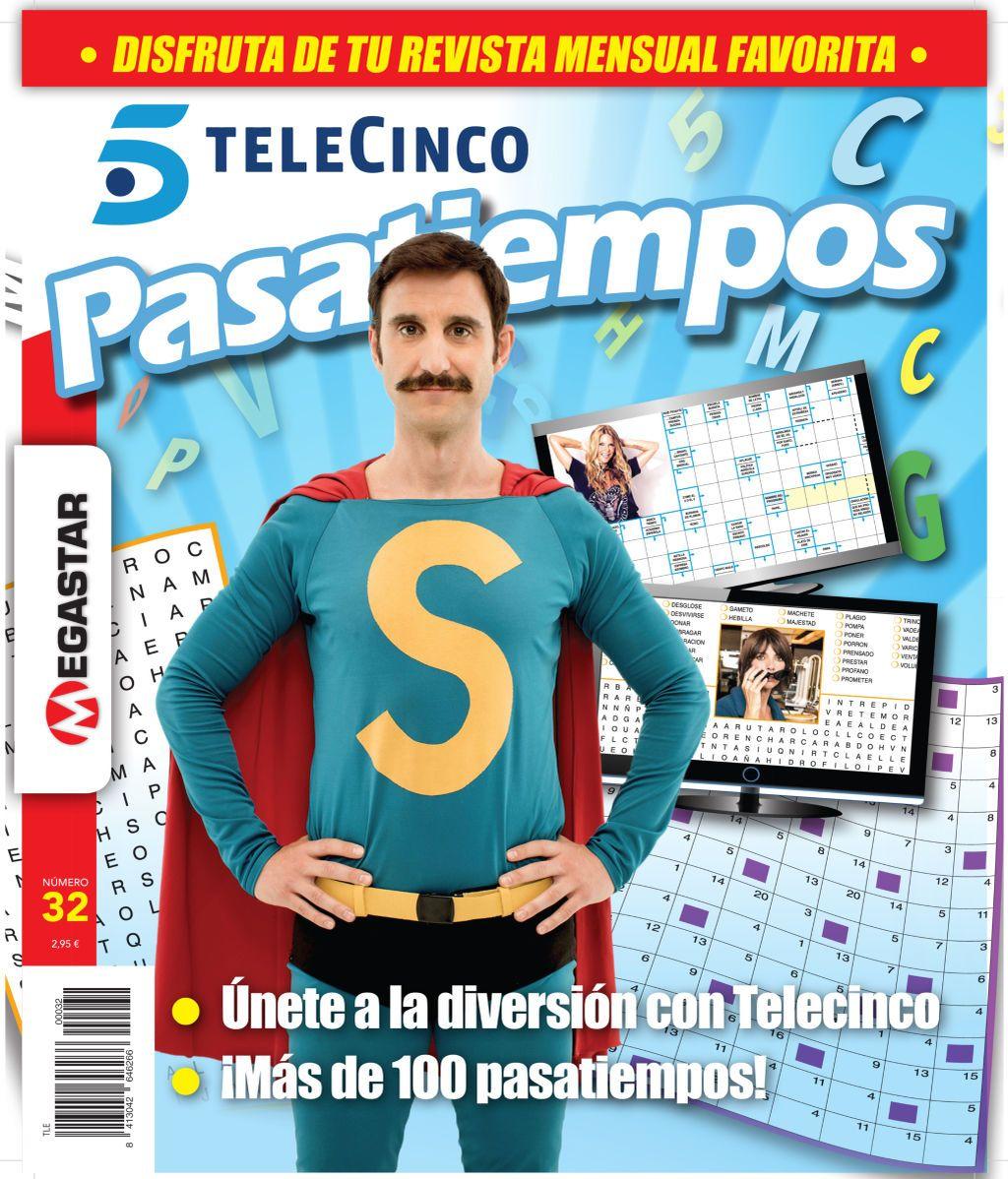 ¡Ya en tu quiosco el nuevo número de Pasatiempos Telecinco!