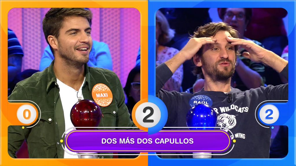 Raúl Arévalo le gana de chiripa el duelo musical a Maxi Iglesias