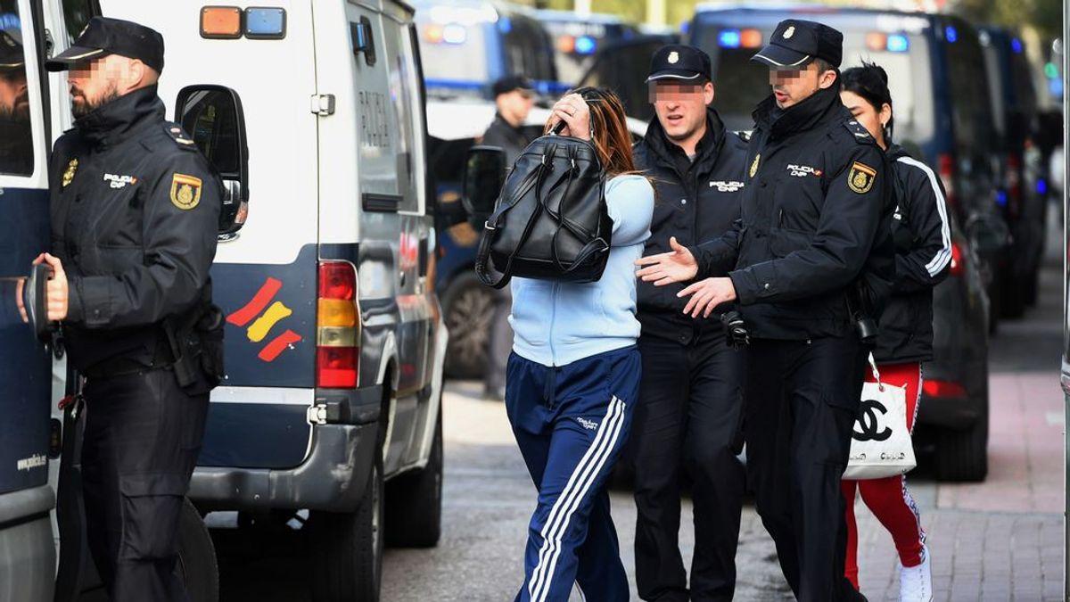 Liberadas varias mujeres en una operación contra la prostitución en Madrid