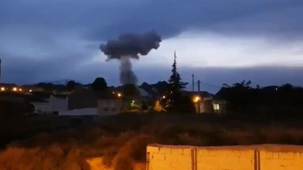 Se investigan las causas de la explosión de la pirotecnia en Guadix