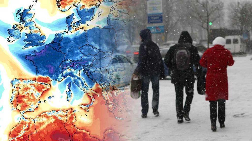 Llega el aire siberiano a Europa la próxima semana: te decimos si afectará a España