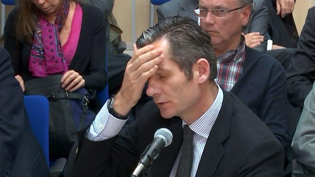 Urdangarín pide al Constitucional que le deje en libertad mientras estudie su recurso