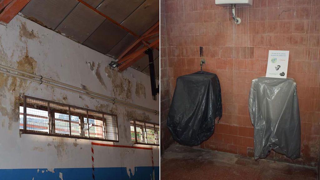 Santi Cazorla denuncia el estado en el que se encuentra el polideportivo de su antiguo colegio