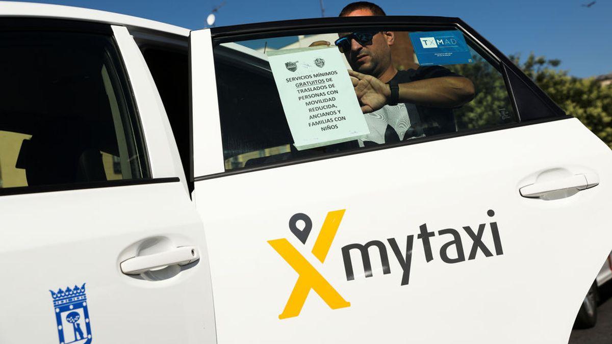 Los taxistes vuelven a protestar contra las VTCs el próximo 26 de noviembre