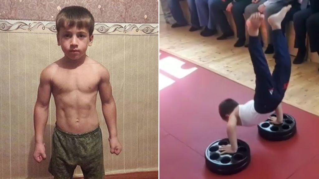 El récord que nadie debería aplaudir: un niño de cinco años hace 4.105 flexiones en poco más de dos horas