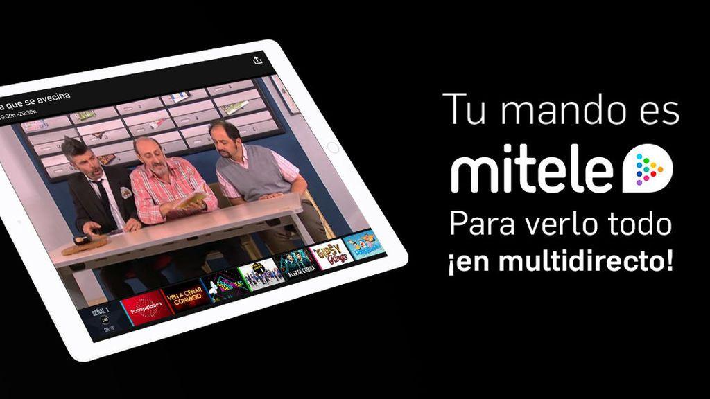 La app de Mitele estrena el player multidirecto ¡Tu mando es Mitele!