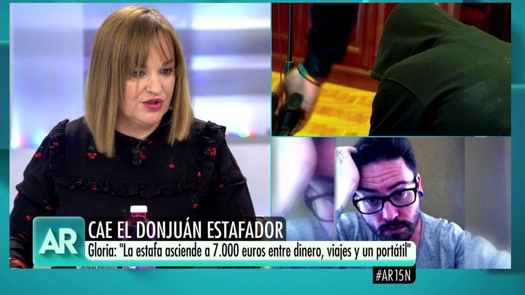 """Gloria, víctima del 'Don Juan estafador': """"Tiene una gran capacidad para fascinar"""""""