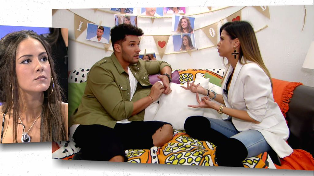 Marina se enfada y abandona su 'triple' cita con Santana