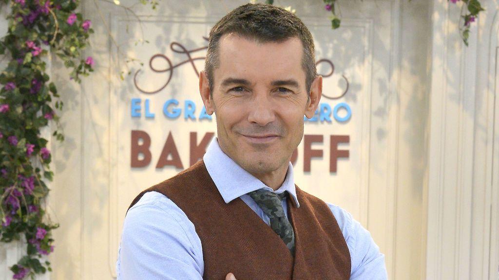Jesús Vázquez es el presentador de 'Bake off España'.