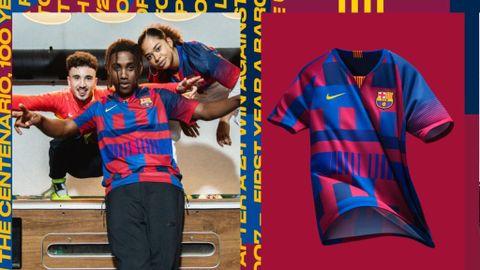 012c0f857ed78 Veinte camisetas en una  el homenaje de Nike al Barça - Deportes Cuatro