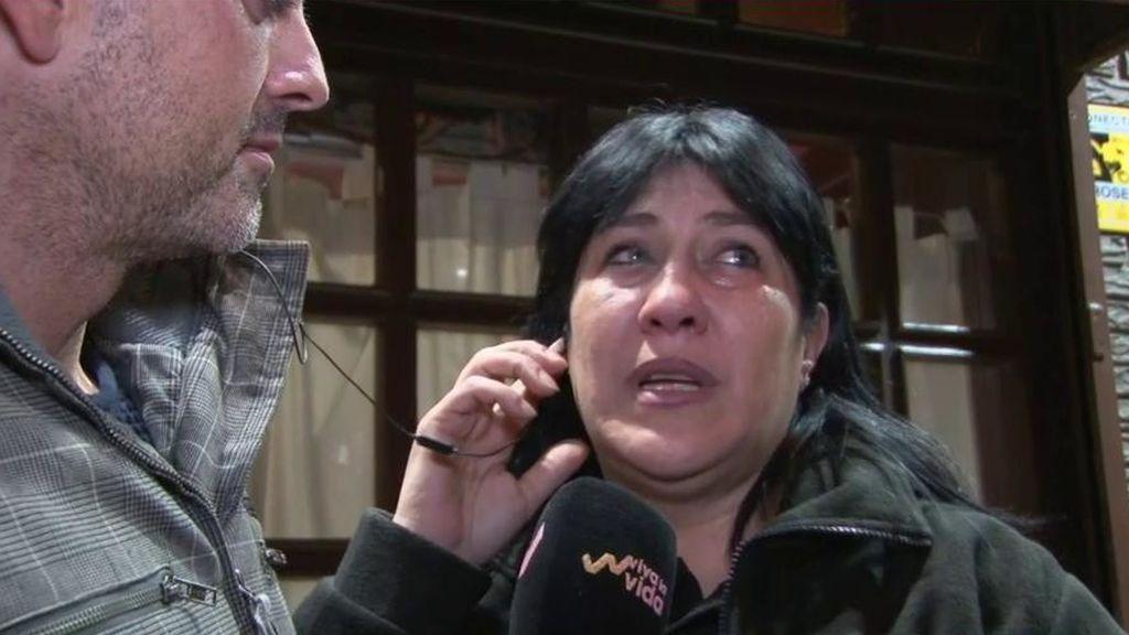 """Raquel, entre lágrimas: """"La familia de Heidi quiere contactarme para darme las gracias"""""""