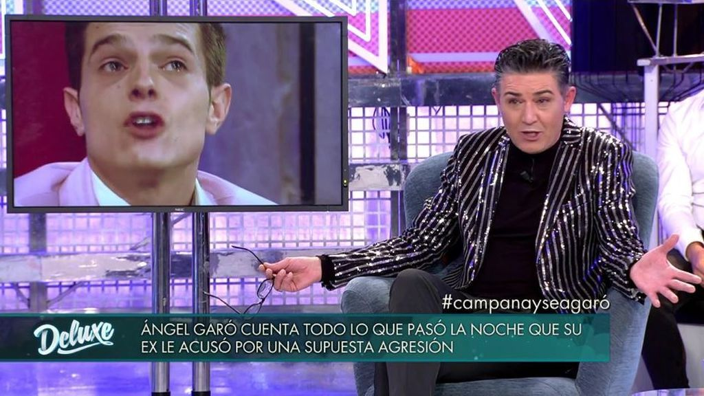 Ángel Garó cuenta todos los detalles de la noche en la que su ex le acusó de maltrato