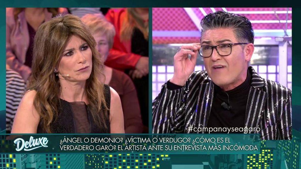 """Ángel Garó deja todo muy claro: """"Asraf me hacía ojitos en la casa"""""""