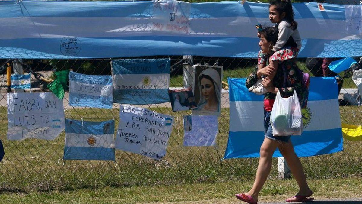 """Submarino ARA San Juan: """"Hay una conmoción terrible en las familias"""""""