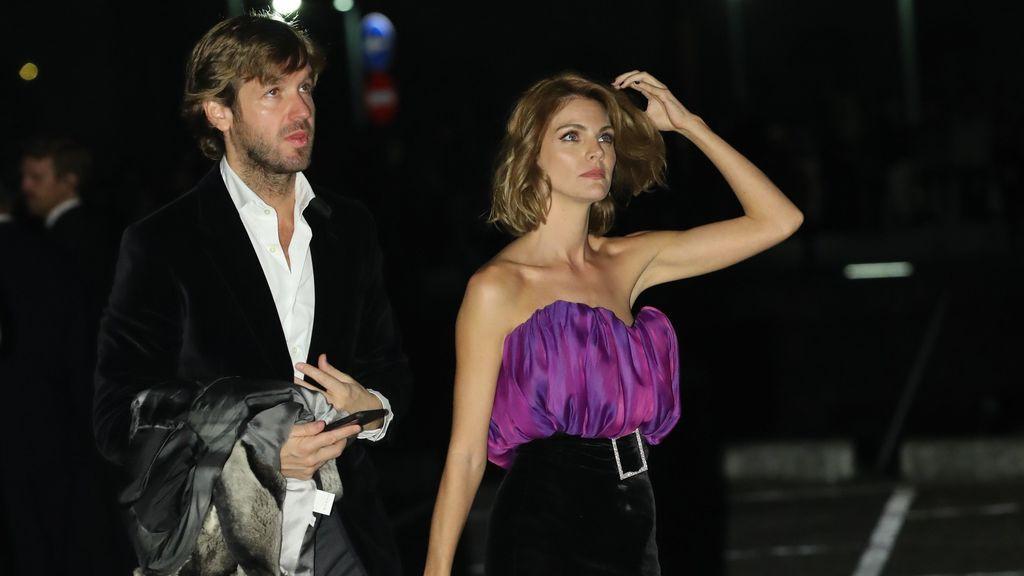 Amaia Salamanca y su marido Rosauro Varo, invitados al cóctel nupcial