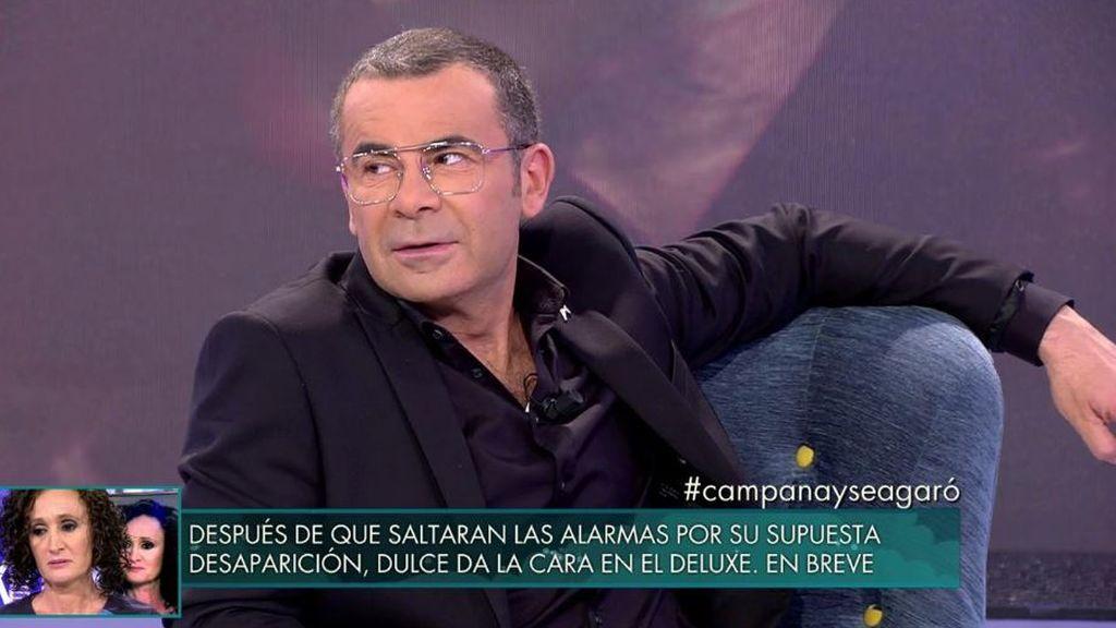 Jorge Javier y los colaboradores alucinan con la economía de Garó