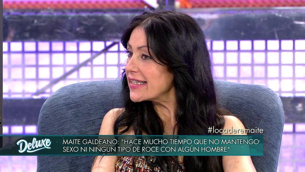Maite Galdeano está enamorada de un famoso y se quiere casar con él