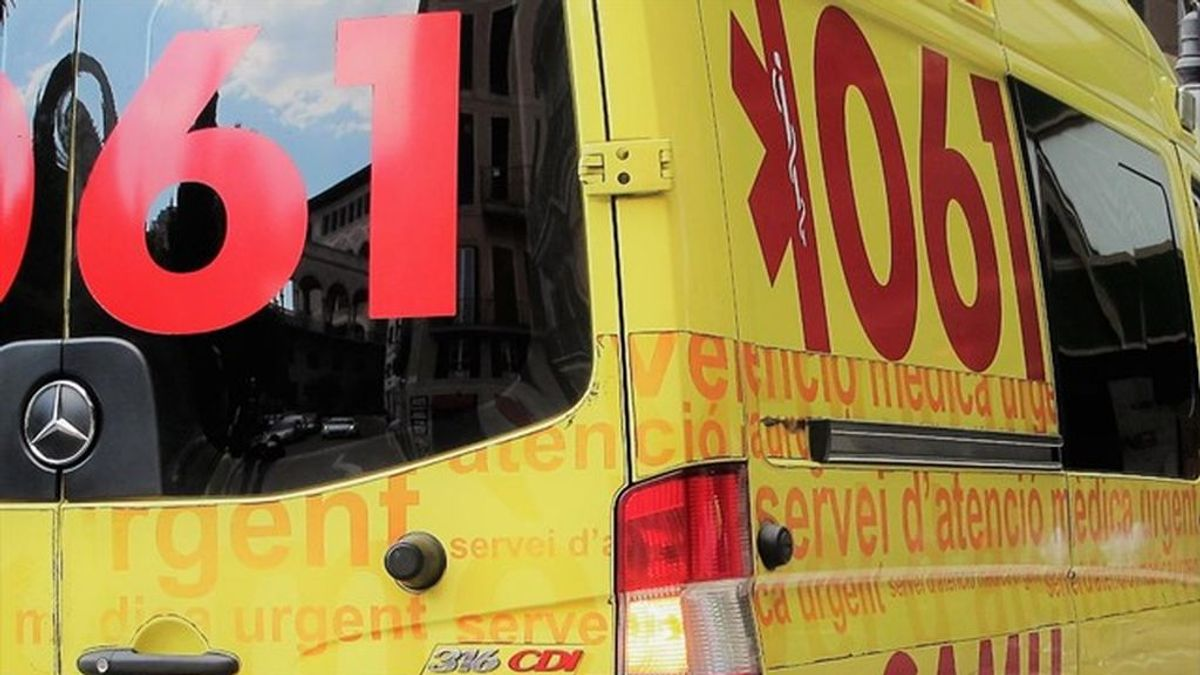 Un ciclista, herido grave al clavarse el manillar en una carrera en Mallorca