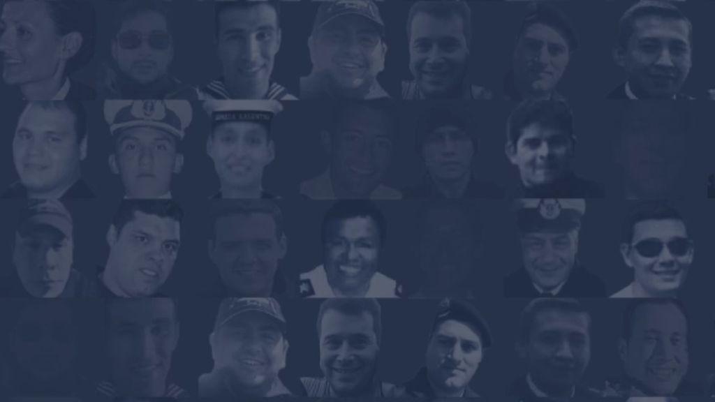 El listado completo de los 44 héroes del ARA San Juan