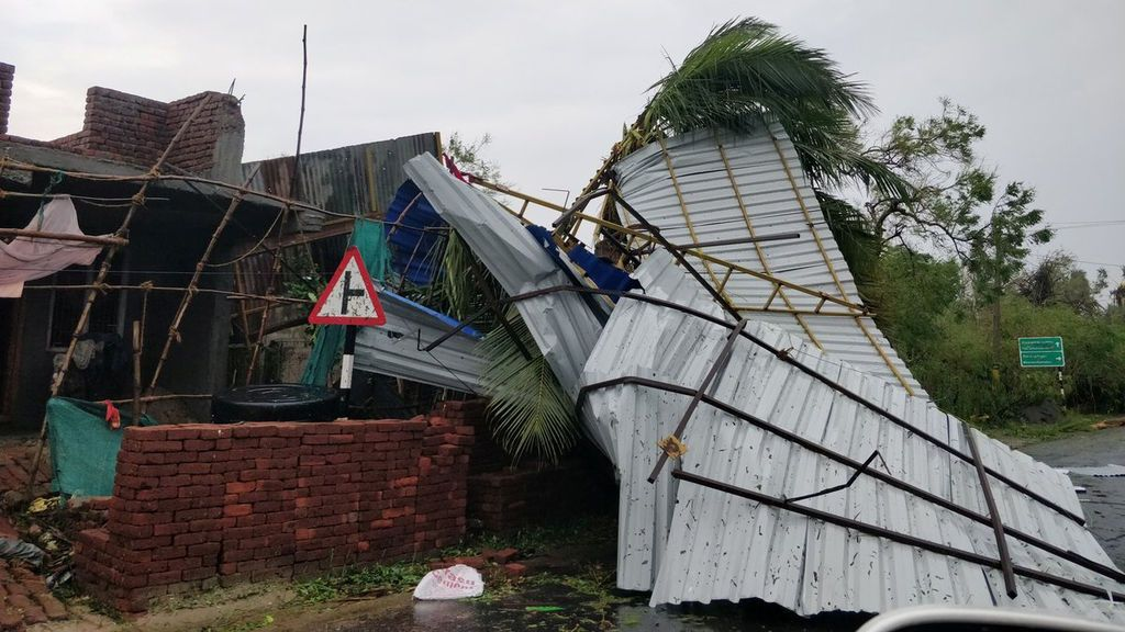 El ciclón Gaja deja 33 muertos en la India