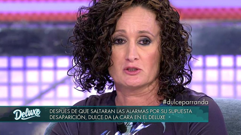 "Dulce reaparece: ""He querido dejar libre a Chabelita para que se reencuentre con su madre"""