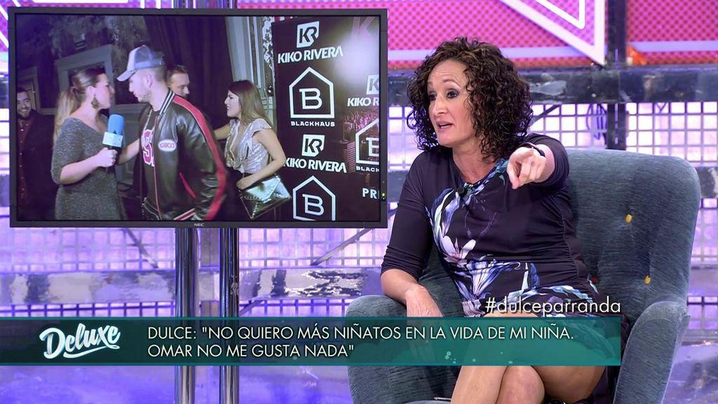 """Dulce opina sobre Omar Montes: """"No quiero más niñatos en su vida"""""""
