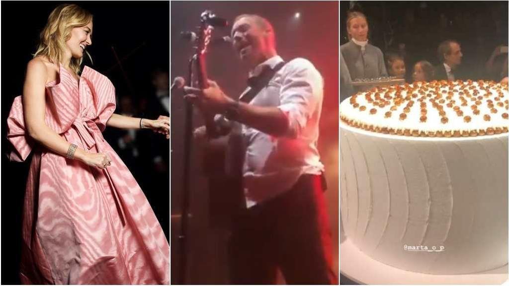 La actuación Norah Jones, la tarta de 1 metro, los 4 vestidos de la novia y otras cosas fuertecitas que pasaron en la boda de Marta Ortega