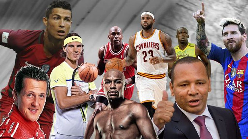 deportistas historia