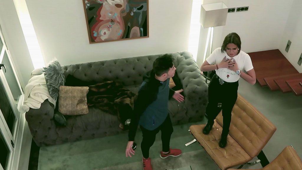 De mal gusto: Gloria entra en pánico al descubrir una plaga de ratones en su casa (1/2)