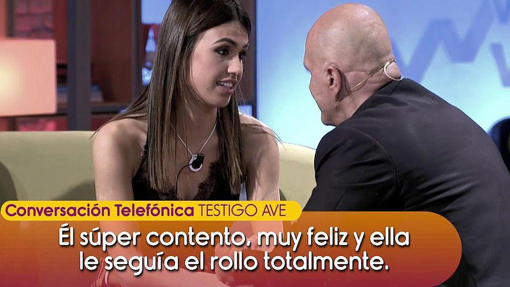 """Habla un testigo del tren: """"Kiko Matamoros y Sofía Suescun iban besándose en toda regla"""""""
