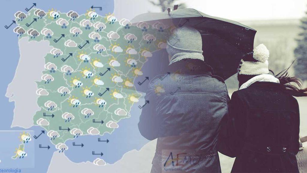 Semana 'pasadísima' por agua: te decimos hasta cuándo va a llover