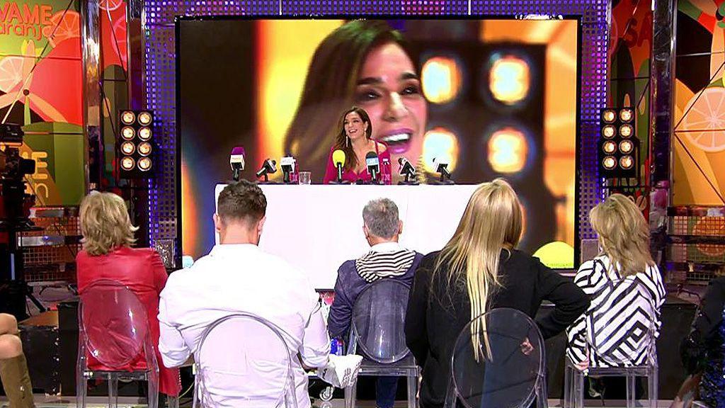"""Raquel Bollo vuelve a 'Sálvame', empiezan los piques y pregunta al director: """"¿Me puedo ir ya?"""""""