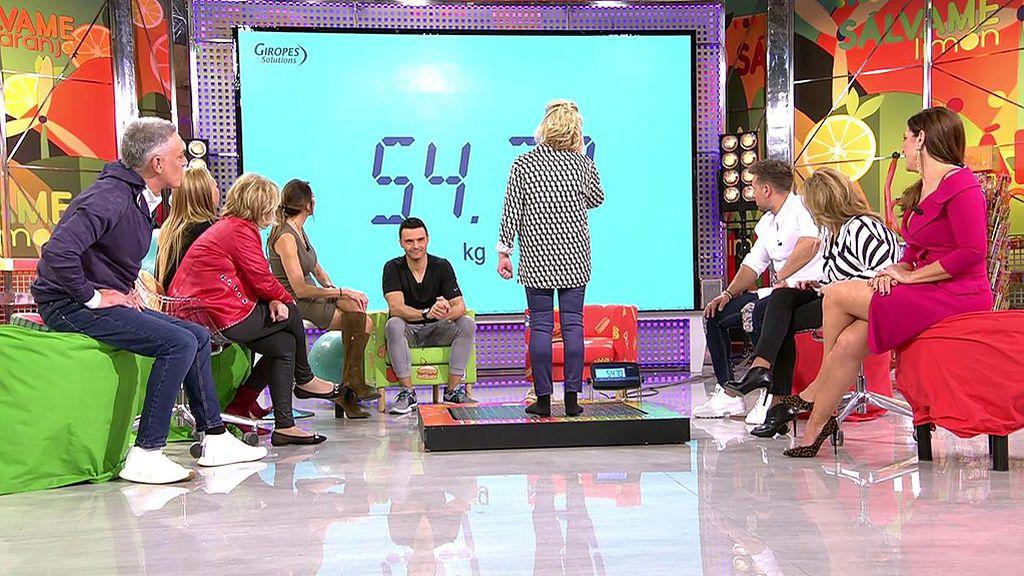 Carmen Borrego discute con bascualina por su presunta 'subida' de peso