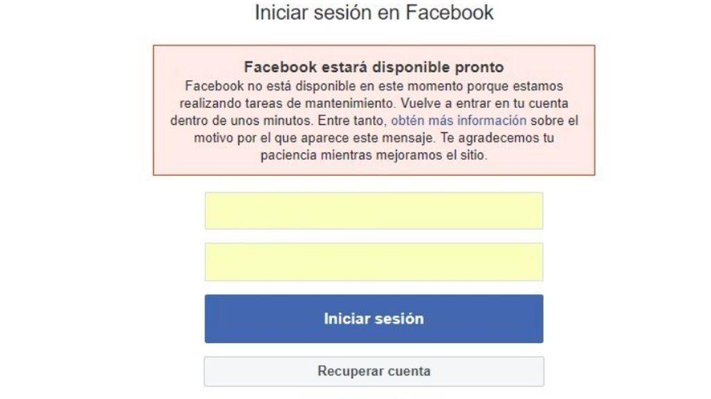 Facebook e Instagram se caen en Europa y en América