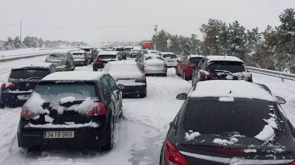 Fomento multa a  Abertis con 15.000 euros por el caos del a autopista AP-6