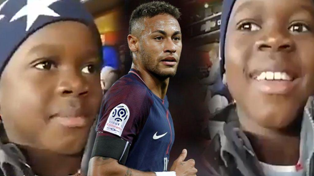Neymar pide ayuda en Twitter para encontrar a uno de sus fans más jóvenes