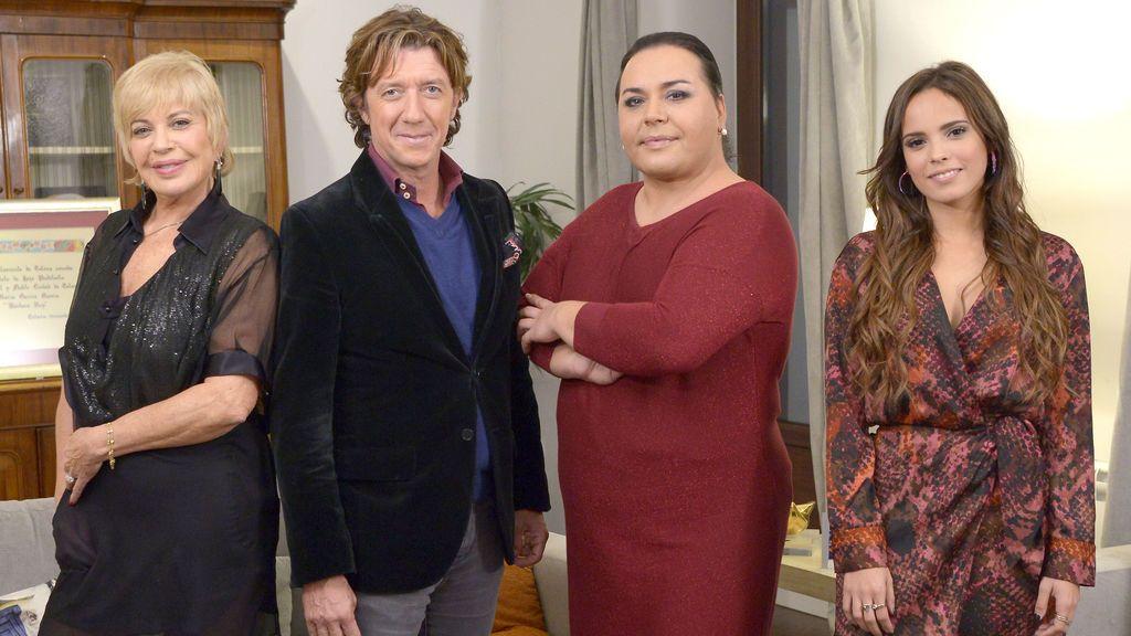 Bárbara Rey, Falete, Gloria Camila y Colate