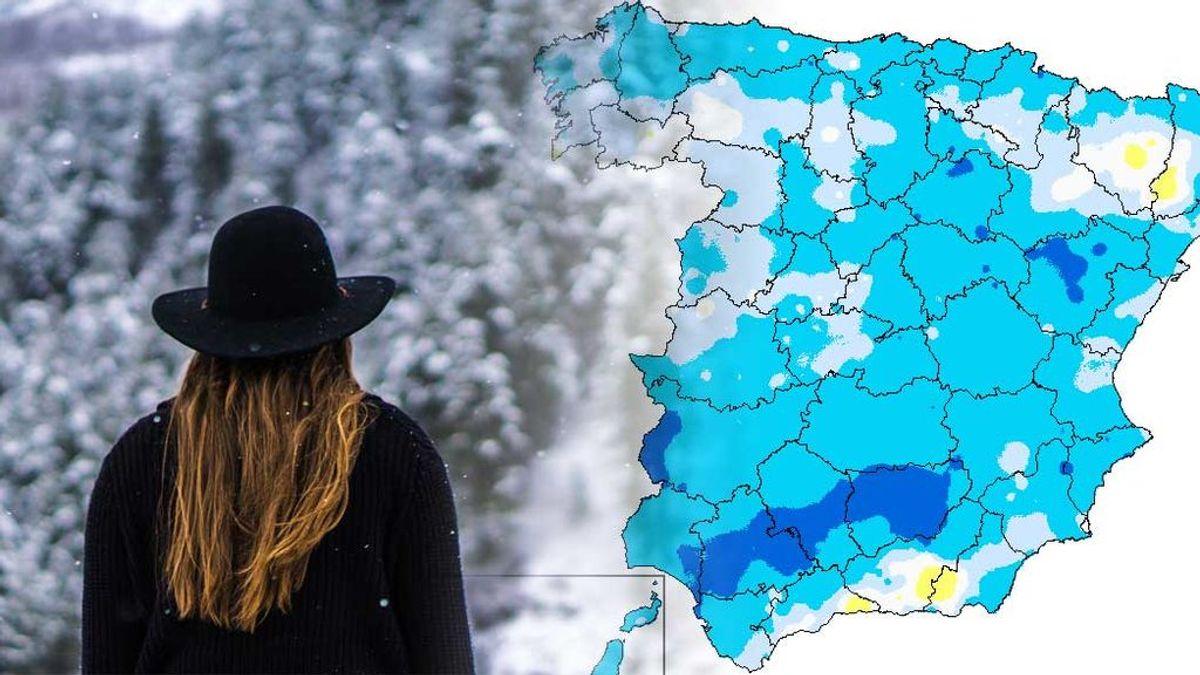 El sábado, nuevo bajón de temperaturas: máximas a  tan solo 12ºC y mínimas a -2ºC