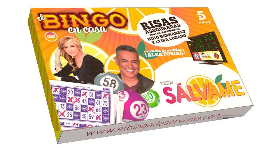 ¡Ya a la venta el Bingo oficial de Sálvame!