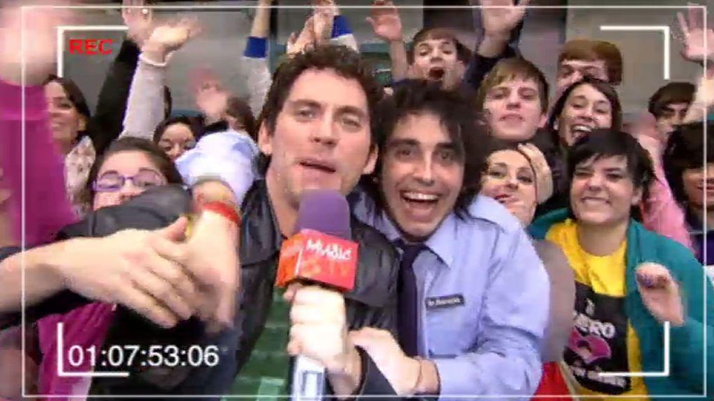 """¡Que ha venido la tele a Esperanza Sur! Luisma: """"¿Cuál es mi cámara?"""""""