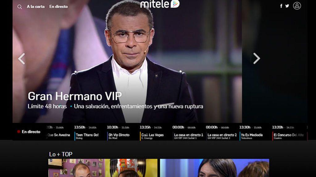Mediaset España, grupo audiovisual líder en octubre en consumo de vídeo online en PC con 93,6 millones de reproducciones