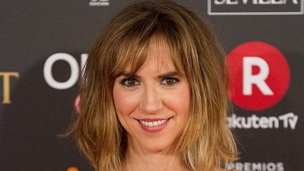 Aina Clotet, en la alfombra roja de los Premios Goya 2018.