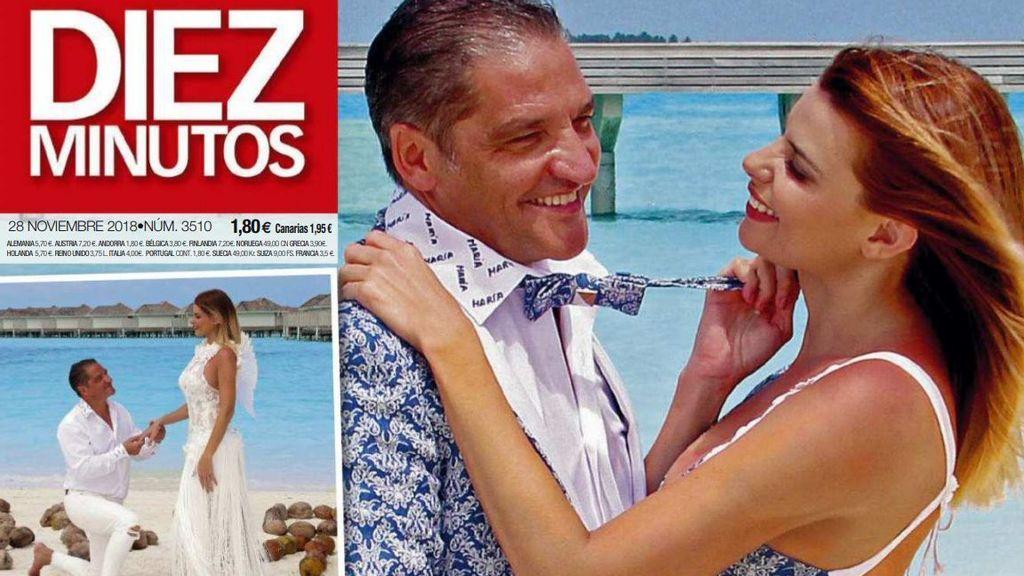 Gustavo González le pide matrimonio a María Lapiedra en Maldivas