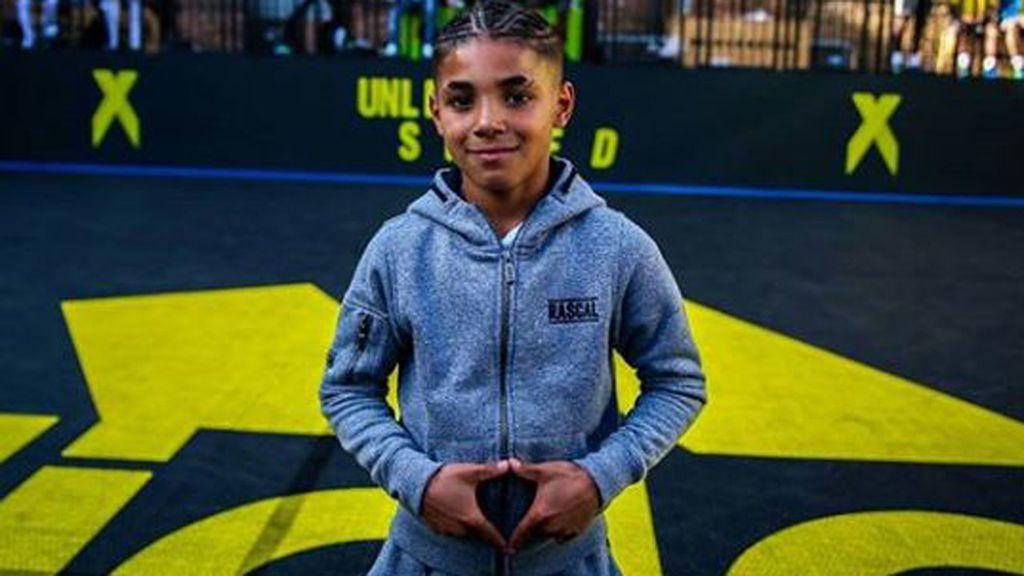 Con 11 años es imagen de una marca y uno de los freestylers más famosos, pero él solo piensa en ayudar a su madre