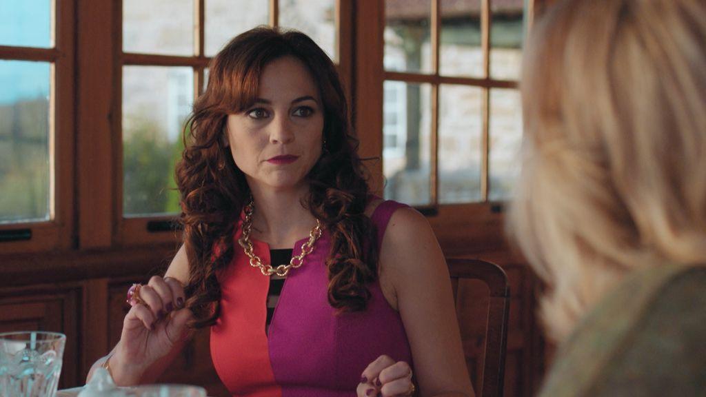Leonor Watling interpreta a Berta Moliner en 'Vivir sin permiso'.